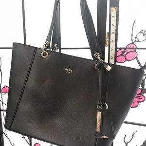 Guess large Kamyrn tote BlackGold